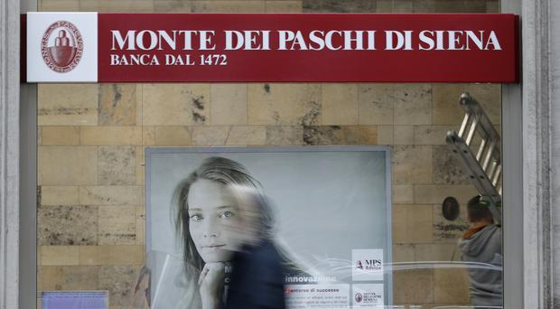 Shares in Monte dei Paschi were suspended on Friday on the Milan stock exchange (AP)