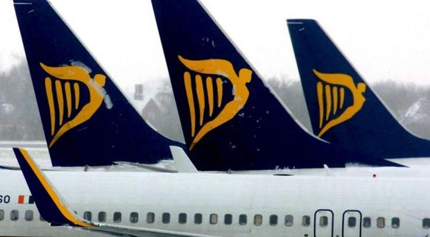 Ryanair made its return to Belfast in January