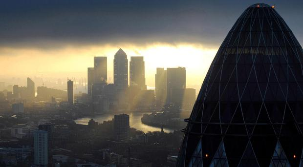 Businesses stay in the City of London because of its competitive advantage, Barclays chairman John McFarlane said