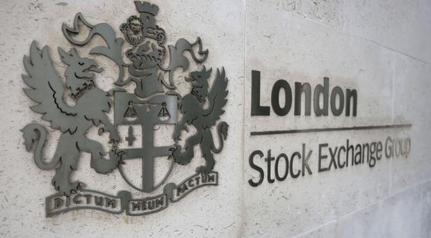 The FTSE 100 lifted 28.4 points to 7096.5