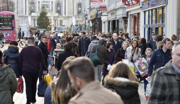 Shoppers from the Republic flocked to Northern Ireland