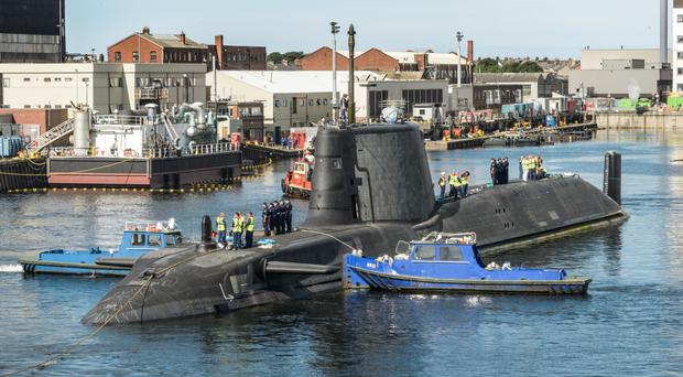 BAE said it needed to keep recruiting highly skilled employees, particularly to work on two submarine programmes at Barrow-in-Furness in Cumbria