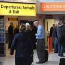 Delays at Belfast International and Belfast City Airport
