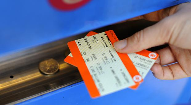 The average rail fare increase across Britain of 2.3% came into force on Monday