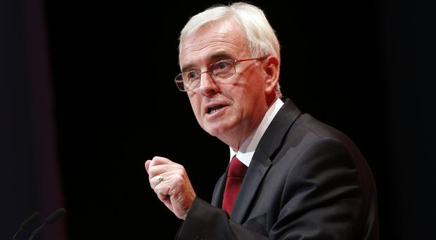 John McDonnell called for ministers to start properly investing in public services