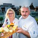 Masterchef champion for 2016 Jane Devonshire joined Yellow Door's Simon Dougan to promote some of Northern Ireland's local cheeses