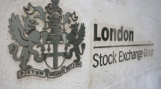 The FTSE 100 was nearly flat at around 7,175 points