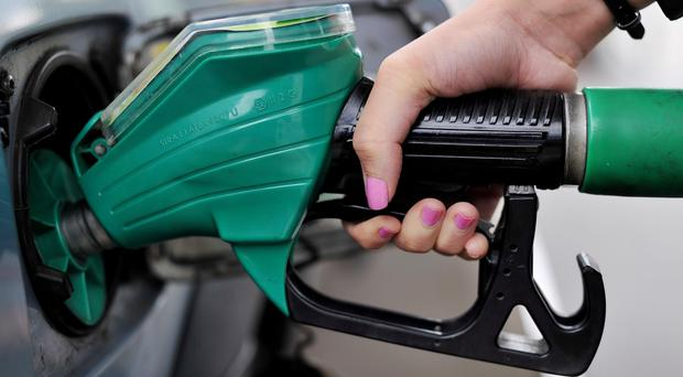A litre of petrol reached an average of £1.17 in the UK on Monday, Government figures show