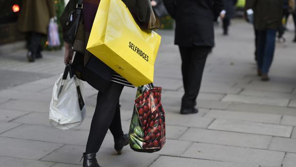 High streets saw a decline in the number of shoppers compared to December 2015