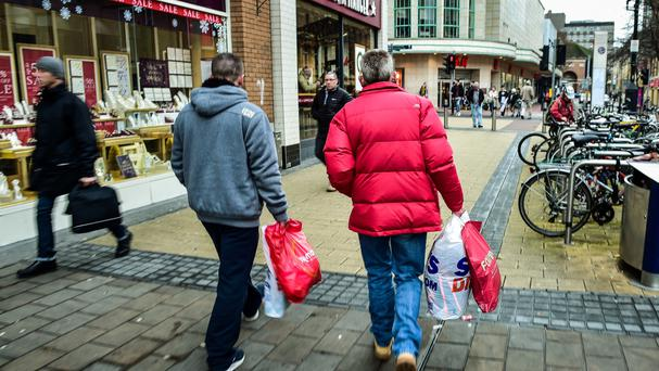 It is the fourth December in a row of poor sales, figures show