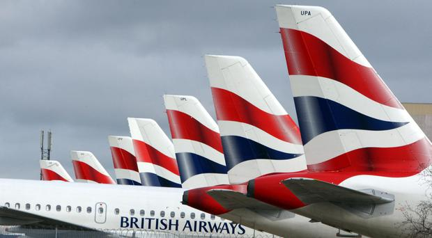 Cabin crew with British Airways are taking industrial action