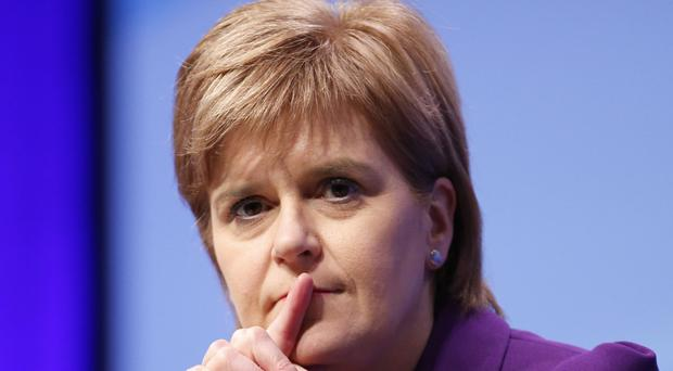 Nicola Sturgeon said that leaving the EU created a fundamental question for Scotland