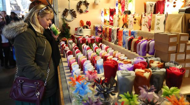 Christmas markets helped fuel the sales figures