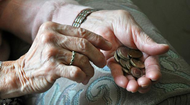The shortfall for defined benefit pensions schemes jumped by 90 billion pounds last year