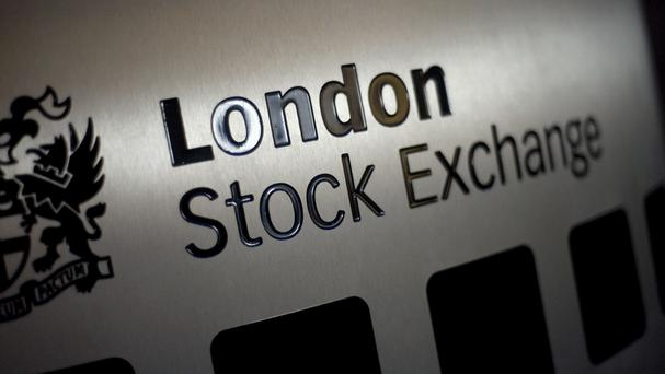 The FTSE 100 Index jumped to a mid-session record of 7,239.26