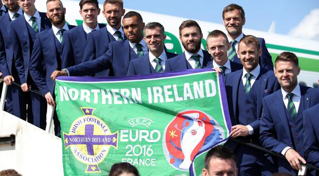 Northern Ireland's run at the Euros was a high point of 2016