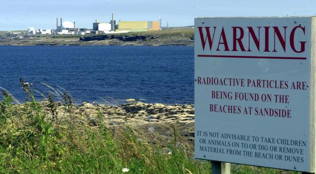 Dounreay is one of the affected sites