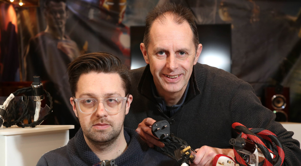 David Campbell, chief executive of DRG Audio Designs, and son Gary, took part in the Propel programme