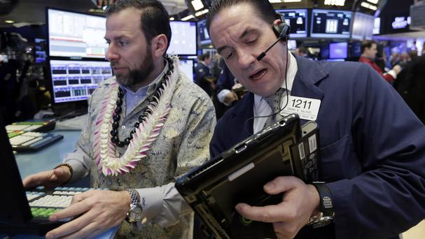 S&P, Nasdaq flat; Goldman leads Dow lower