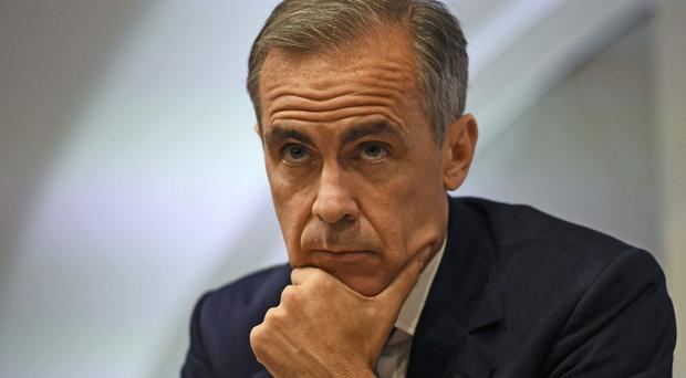 Mark Carney was giving evidence to MPs