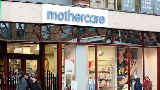 Mothercare's online sales grew 5.5% over the festive period and now account for around 40% of UK trade