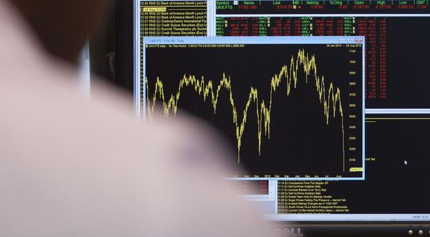 The FTSE dipped a little after its record highs