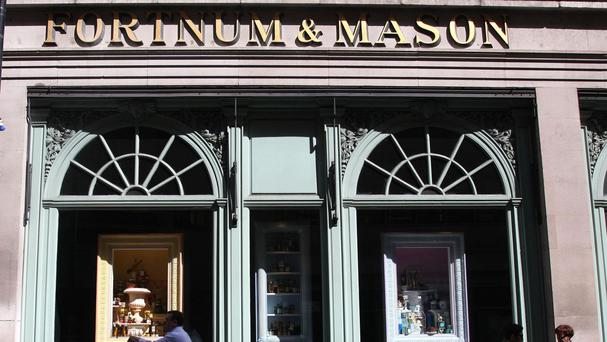 Fortnum & Mason's flagship store in London's Piccadilly saw footfall increase by 10%