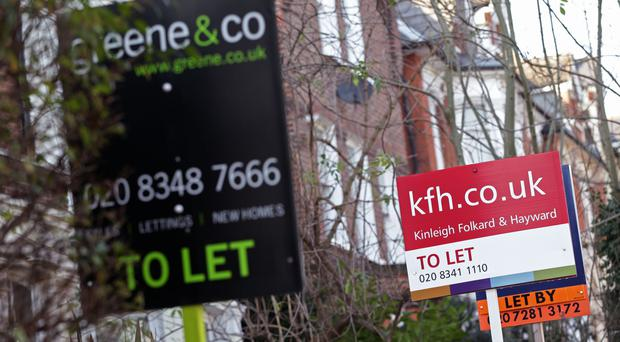 Rents were reported to have risen by 1.6% across Britain last year to an average of £927 per month