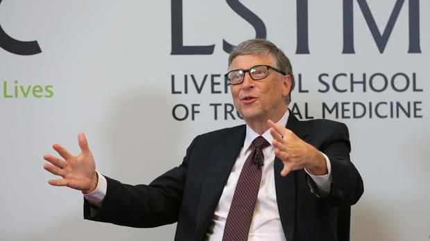 Bill Gates, a known philanthropist who has pledged to give away most of his wealth, is among the eight billionaires topping the rich list