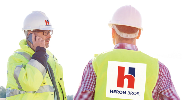 Heron Bros engineers on site at one of the company's projects