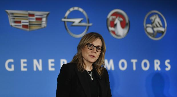 General Motors chairman and chief executive Mary Barra, as it was reported that the company will announce a major investment in its factories (AP/Paul Sancya)