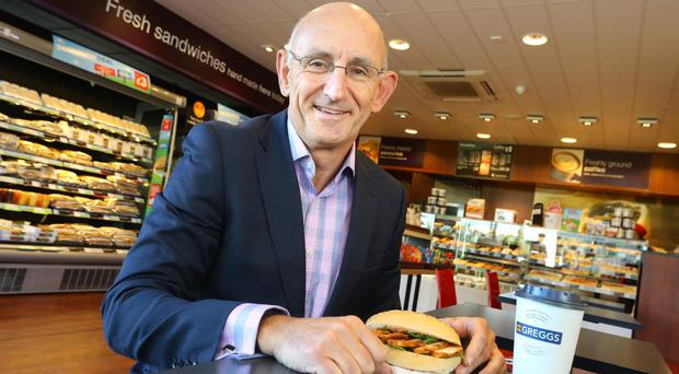 Greggs chief executive Roger Whiteside hailed the performance but warned of 'industry headwinds' in 2017, such as rising costs (Greggs/PA)