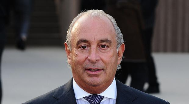 Sir Philip Green has said he will