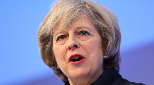 Prime Minister Theresa May said her talks with bankers and business chiefs at the World Economic Forum had been 'positive'
