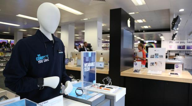 Dixons Carphone had a good Christmas, results suggest (Dixons Carphone/PA Wire)