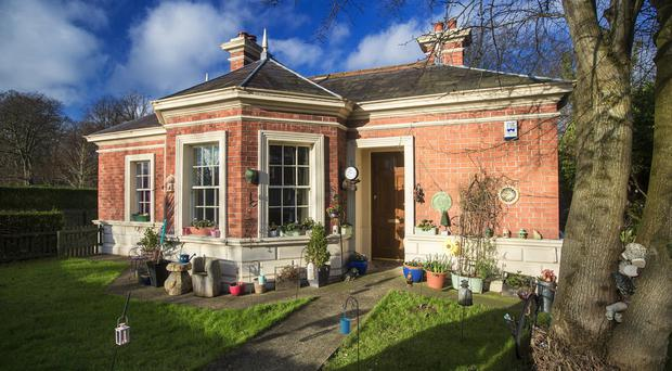 Wallace Park Gate Lodge in Lisburn was refurbished by Hearth Housing Association