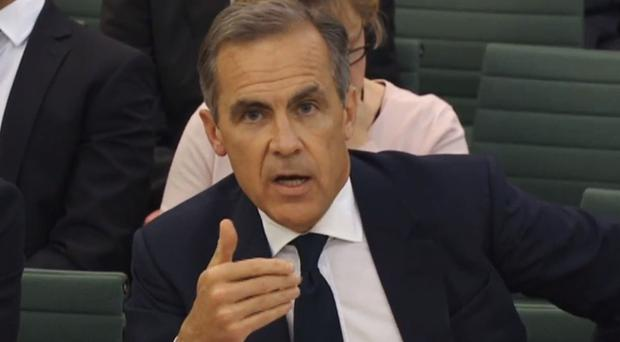 Bank of England governor Mark Carney warned of the dangers of burgeoning fintech