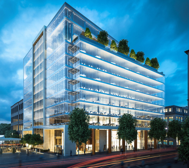 The proposed One Bankmore Square building in Belfast