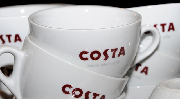 Costa Coffee's like-for-like sales grew 4.3% in the 13 weeks to December 1