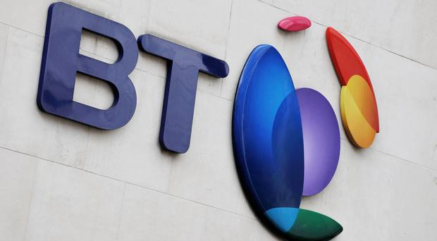 BT said earlier that it would book a £530 million writedown linked to 'inappropriate behaviour' in Italy