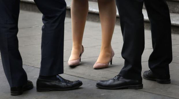 The number of part-time staff on salaries over £40,000 has increased by 5.7% in the past year, the report said