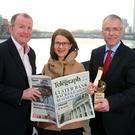 From left: Richard McClean, managing director of the Belfast Telegraph; Margaret Canning, business editor; Richard Donnan, Ulster Bank head of Northern Ireland