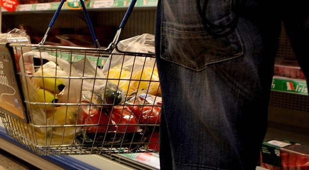January saw shop prices fall by 1.7% when compared with the same period last year