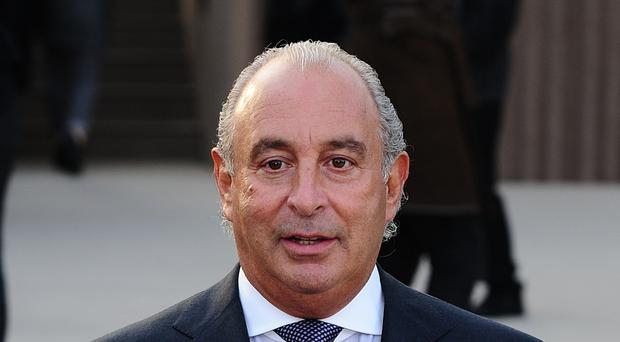 Sir Philip Green was knighted by the Queen for services to retail in December 2006
