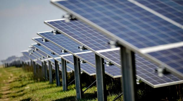 The falling cost of solar panels could help transform the energy market, a study finds