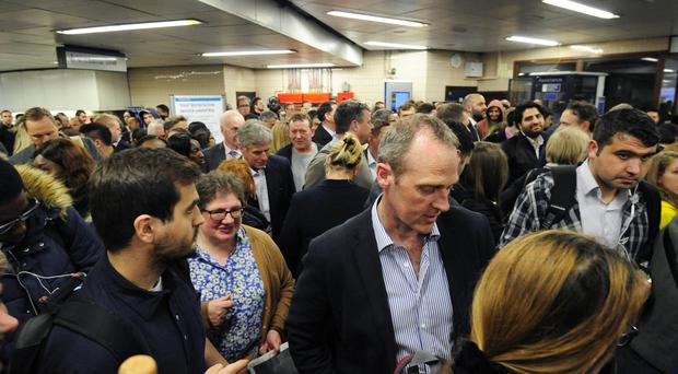 The number of incidents of Tube delays caused by overcrowding tripled between 2012 and 2016