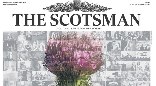 The Scotsman publisher Johnston Press said the newspaper industry faced challenging conditions