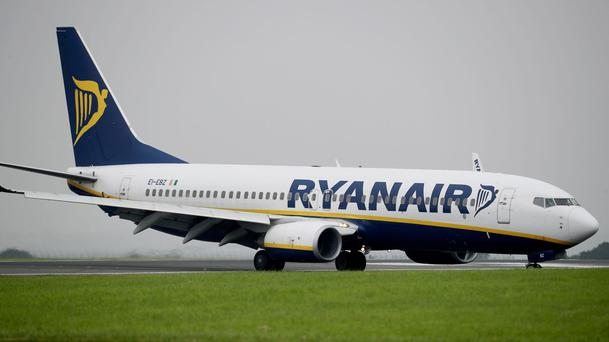 Fall in sterling drives down profits at Ryanair