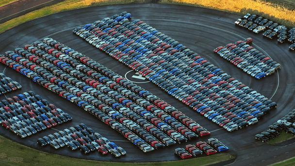 North's new auto  registrations slump, SMMT figures show