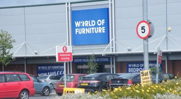World of Furniture closed its doors here at the end of last month